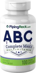 ABC Complete Men's Multivitamin 100 Coated Caplet