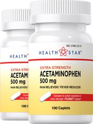 Acetaminophen 500 mg 100 Caplets