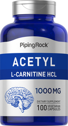 Acetyl L-Carnitine 1000mg 100 Capsules
