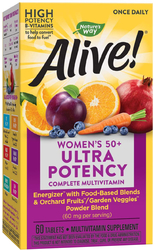 Alive! Once Daily Women's 50+ Multi-Vitamin, 60 Tabs