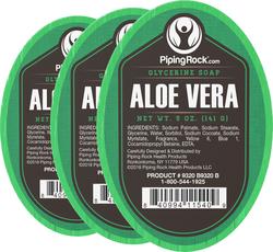 Aloe Vera Glycerine Soap 5 oz x 3 Bars