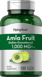 Amla Fruit (Indian Goosberry) 1000 mg (per serving) 120 Capsules