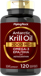 Antarctic Krill Oill, 2000 mg (per serving), 120 Softgels