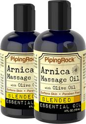 Arnica Massage Oil 2 Bottles x 4 fl oz (118  mL)
