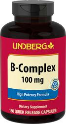 B-Complex, 100 mg, 180 Capsules