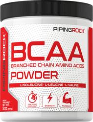 BCAA Powder (Branched Chain Amino Acids), 5000 mg (per serving), 9 oz (255 g)