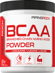 BCAA Powder (Branched Chain Amino Acids), 5000 mg (per serving), 9 oz (255 g)