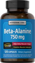 Beta Alanine 750 mg, 120 Caps