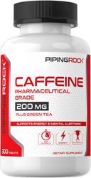 Caffeine with Green Tea, 300 Tablets