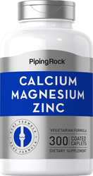 Calcium Magnesium Zinc, 300 Coated Caplets