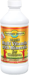Childrens Liquid Multi Vitamin & Minerals 8 fl oz