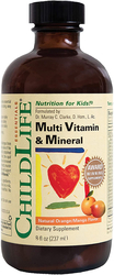 Children's Liquid Multivitamin Mineral, Natural Orange Mango, 8 fl oz