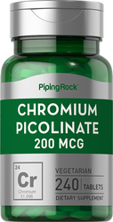 Chromium Picolinate 200 mcg 240 Tablets