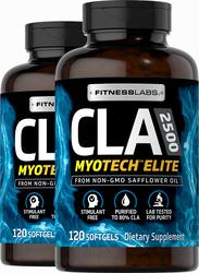 CLA 2500 Myotech Elite 2500 mg (per serving), 120 Softgels