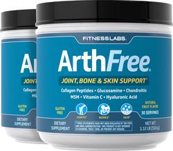 Collagen Joint Formula with Glucosamine Plus Powder ArthFree, 1 lb x 2 Bottles