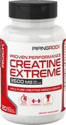Creatine Monohydrate 3500 mg (per serving), 120 Capsules