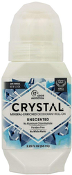 Crystal Roll-On Deodorant Natural Body 2.25 fl oz (66 mL)