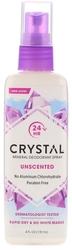 Crystal Mineral Deodorant Spray (Unscented),  4 fl oz