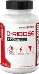D-Ribose 800 mg 120 Capsules