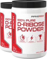 D-Ribose Powder 2 Bottles x 10.6 oz (300 grams)