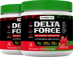 Delta Force Pre-Workout Concentrate Powder (Watermelon Explosion), 6.45 oz (183 g) Bottle