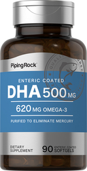 DHA 500mg Enteric Coated 90 Softgels