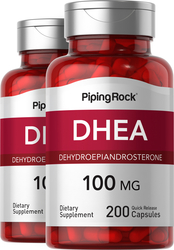 DHEA, 100 mg, 2 x 200 Capsules