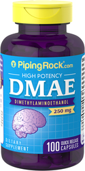 Buy DMAE 250 mg 100 Capsules