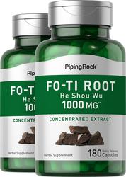 Fo-Ti Root He-Shou-Wu Supplement 1000 mg 180 Capsules
