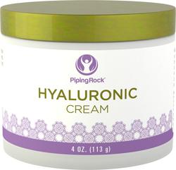 "Hyaluronic Acid Cream 4 oz (113 g) Jar"" title=""Hyaluronic Acid Cream 4 oz (113 g) Jar"