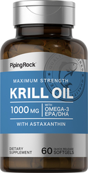 Krill Oil 1000 mg, 60 Softgels