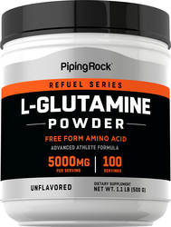 Buy Pure L-Glutamine Powder 5000 mg 12 oz (340 grams)