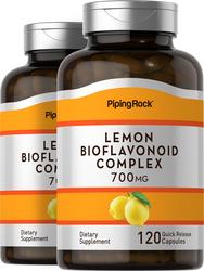Lemon Bioflavonoid Complex 700 mg, 120 Capsules x 2 Bottles