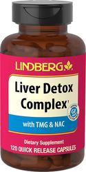 Liver Detox Complex, 120 Quick Release Capsules