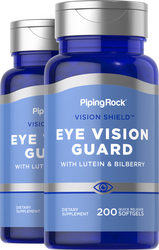 Lutein Bilberry Eye Vision Guard with Zeaxanthin 2 Bottles x 200 Softgels