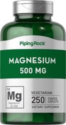 Magnesium Oxide 500 mg 250 Supplement Capsules