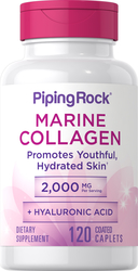 Fish Collagen 500mg + Hyaluronic Acid 20mg 120 Tablets