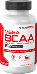 Mega BCAA, 2000 mg (per serving), 90 Capsules