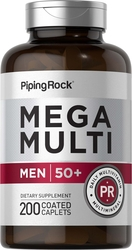 Mega Multi for Men 50 Plus, 200 Caplets