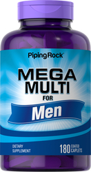 Mega Multi for Men, 180 Coated Caplets