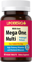 Mega One Multi With Iron (Prolonged Release), 90 Tabs