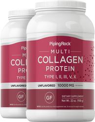 Multi Collagen Protein, 10,000 mg, 2 lb (908 g) x 2 Bottles