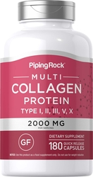 Multi Collagen Protein, 180 Capsules