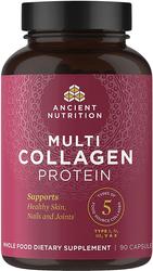 Multi Collagen (Types I, II, III, V, X), 90 Caps
