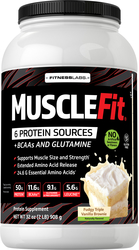 MuscleFIt Protein (Fudgy Triple Vanilla Brownie) 2 lb