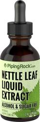 Nettle Leaf Liquid Extract Alcohol Free 2 fl oz (59 mL) Dropper Bottle