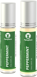 Peppermint Essential Oil Roll-On Blend 2 x 10 mL (0.33 fl oz)