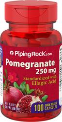 Buy Pomegranate Extract 250 mg (Standardized) 100 Antioxidant Capsules