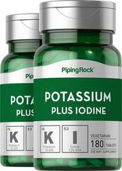 Potassium Plus Iodine  2 Bottles x 180  Tablets