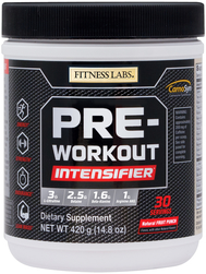 Pre-Workout Intensifier Natural Fruit Punch